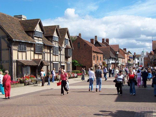Stratford-upon-Avon-England