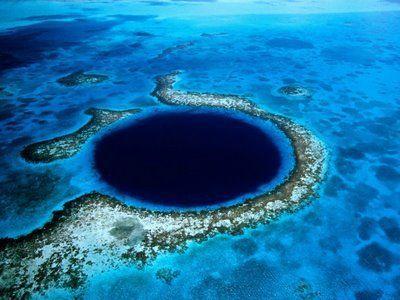 gran agujero azul belice