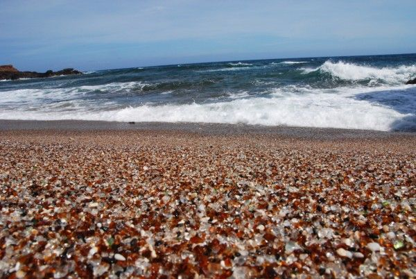 Kauai Glass Beach. Foto de Randy Storey en Flickr