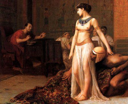 Cleopatra e l'incantesimo dell'Egipto