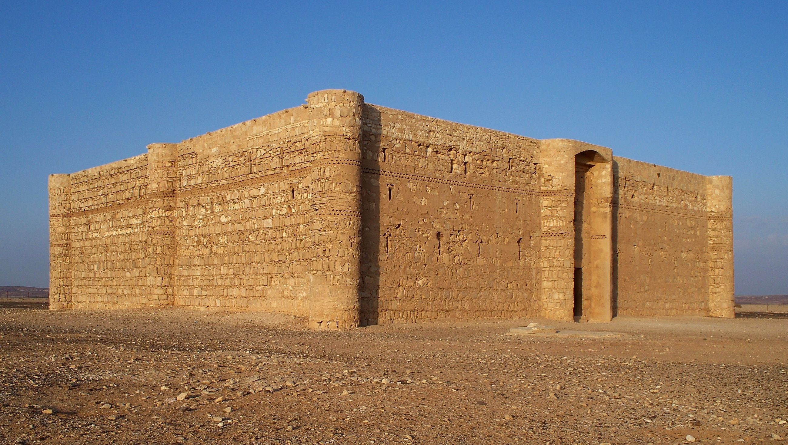 Qasr Kharana en Jordania
