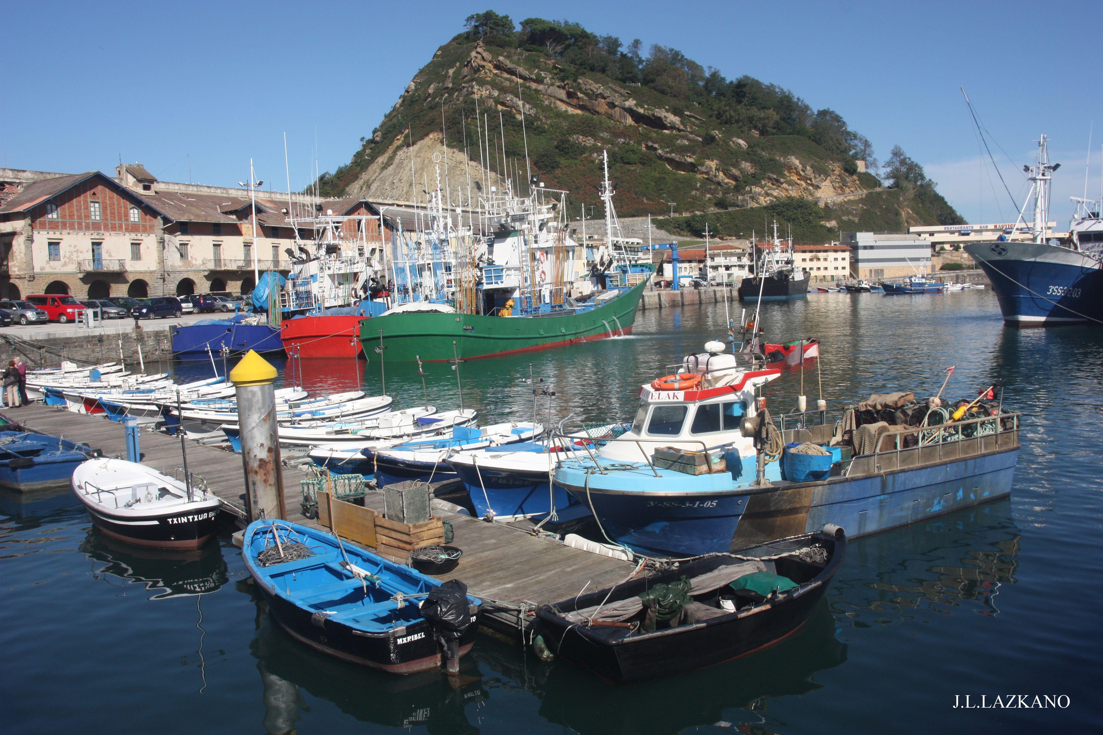 Getaria Puerto